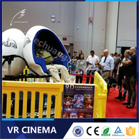 Newest 9D VR Game 9D Virtual Reality Simulator Machine Thrilling 9D Cinema For Entertainment