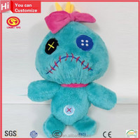 Hot sale popular moving toys and dolls for kids liloy and stitch Plush Toy