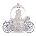 Romantic couple glass music box crystal wedding gifts