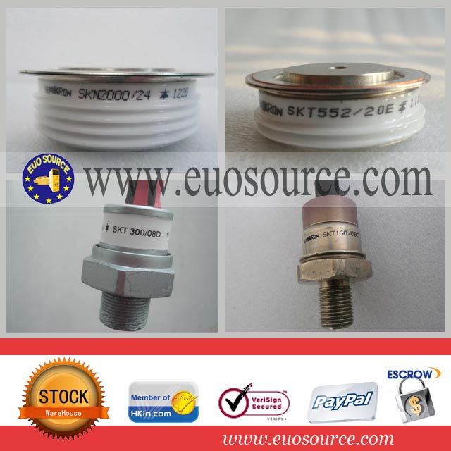 Types of Semikron SCR thyristors SKN4000