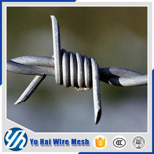 2016 hot sale Barbed wire length per roll /barbed wire fence/barbed wire price alibaba express