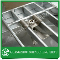China factory fixing grating clips, steel grating clips, galvanized grating clips