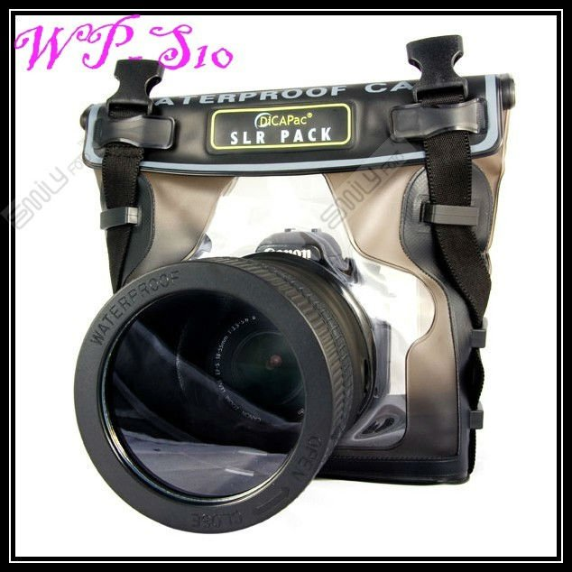 Hot!Dicapac waterproof case for digital camera WP-S10 WPS10