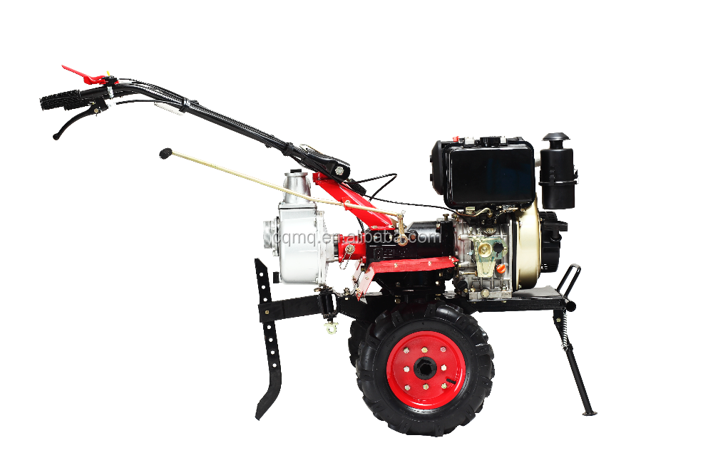High quality 4Pcs4Group dry land blade diesel cultivator