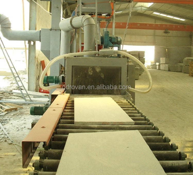 001 Chinese stone surface shot blasting machine