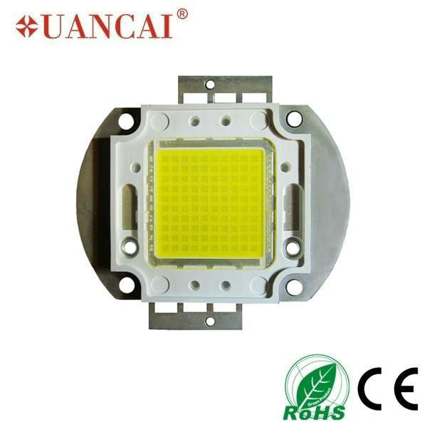 100w integrated led diode module for streetlights