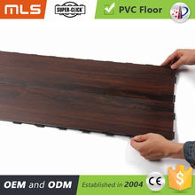 Anti slip interlocking plastic floor tiles laminate wood flooring