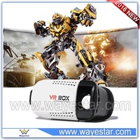 Powerfull 3D Virtual Reality Glasses Support 3D Movie/Games/Video All In One Android 3D VR Box Factory Price