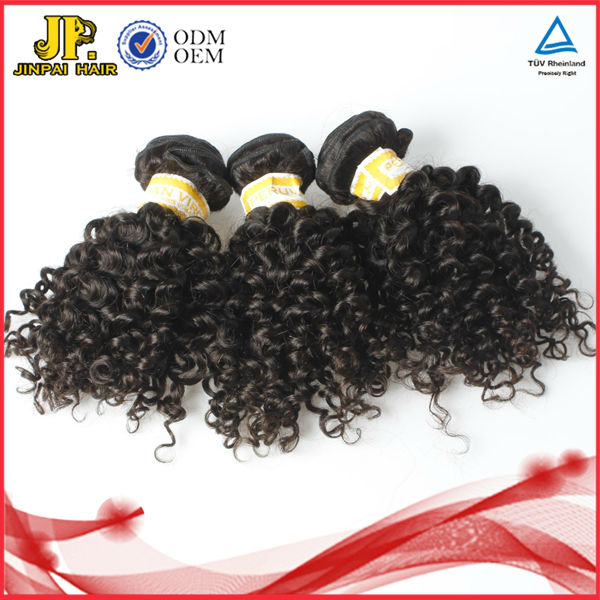 JP Hair Full Cuticle Top Quality 100% Natural Indian Hair Extension Kinky Twist