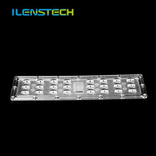 ILENSTECH asymmetrical led lens 3030 3535 street light module lens