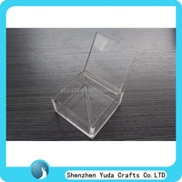 simple design plexiglass box,retail store acrylic material package box,china pop sale high clear acrylic candy box for wedding