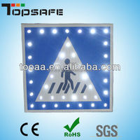 3M Reflector Road Safety Solar Led Sign Board