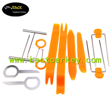 Hot selling disassembly tools for car stereo for locksmith tools set