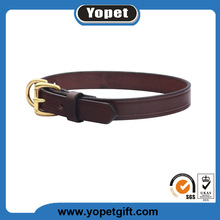 Adjustable Cervical Leather Dog Collar Handmade Leather Pet Collar and Leash for Dog