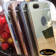 for iphone 6 5 5s 6s plus brushed aluminum case metal cell phone cases high quality