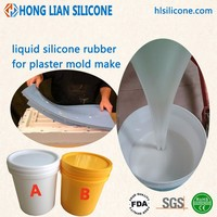 low shrinkage RTV silicone rubber for gypsum mold good price liquid silicon wholesale