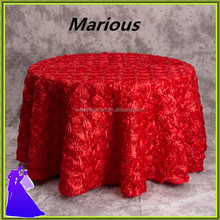 2017 hot style red embroidery damask table cloth for hotel With Trade Assurance