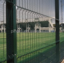 76.2mm*12.7mm high security 358 mesh fence / prison security powder coated 358 fence panel