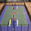 Hot Selling Outdoor Rubber Basketball Court