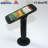 Stand alone Mobile Phone Display Holder, Widely used cell phone security display holder without alarm