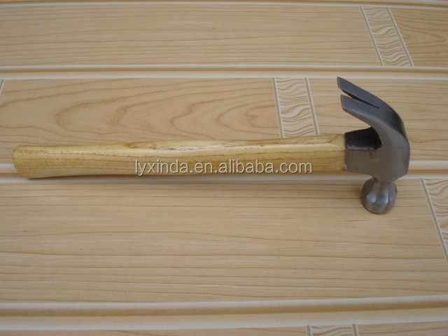 wooden handle claw hammer (American type),different types of claw hammers