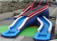 Cheap Giant Commercial Grade Inflatable Water Slide for Sale