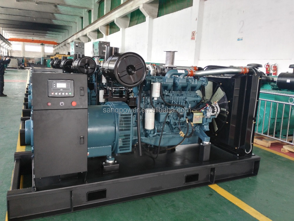 220V 50HZ 500KVA imported generator for factory/goverment/hospital used