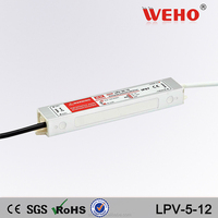 Competitive quotation 5w 12v led power supply 12v 0.42a waterproof power supply