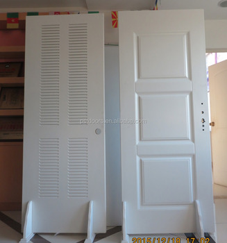 bathroom door ventilation,steel louver door,American style water heater door
