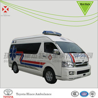 LHD toyota hiace ambulance,hiace ambulance,ambulance for sale