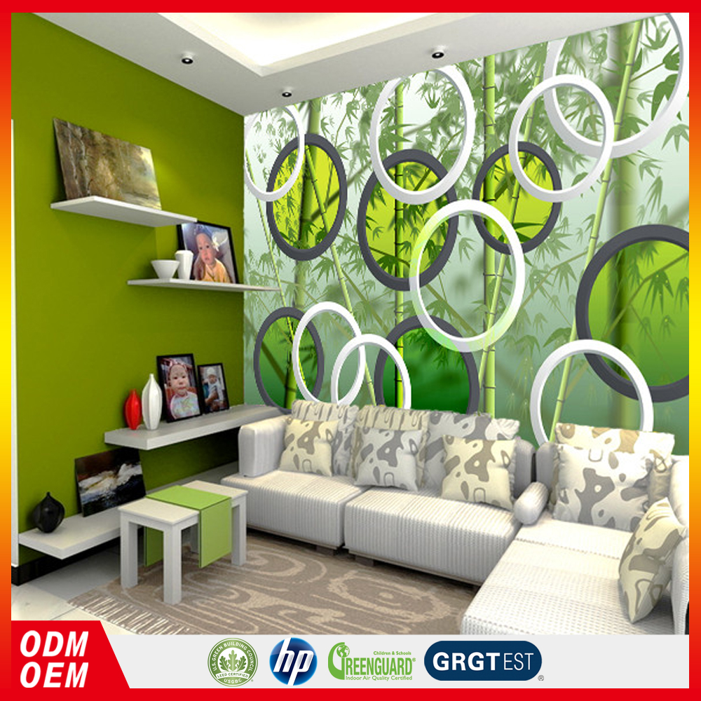 3d bamboo forest 3d wall tile murals for home decoration