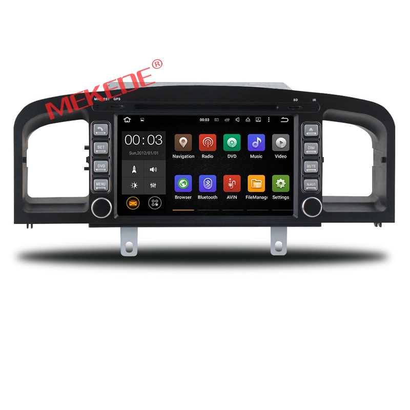 hot selling! Android 7.1 system 7 Inch two din Car DVD Player For lifan 620 with GPS Navigation Radio
