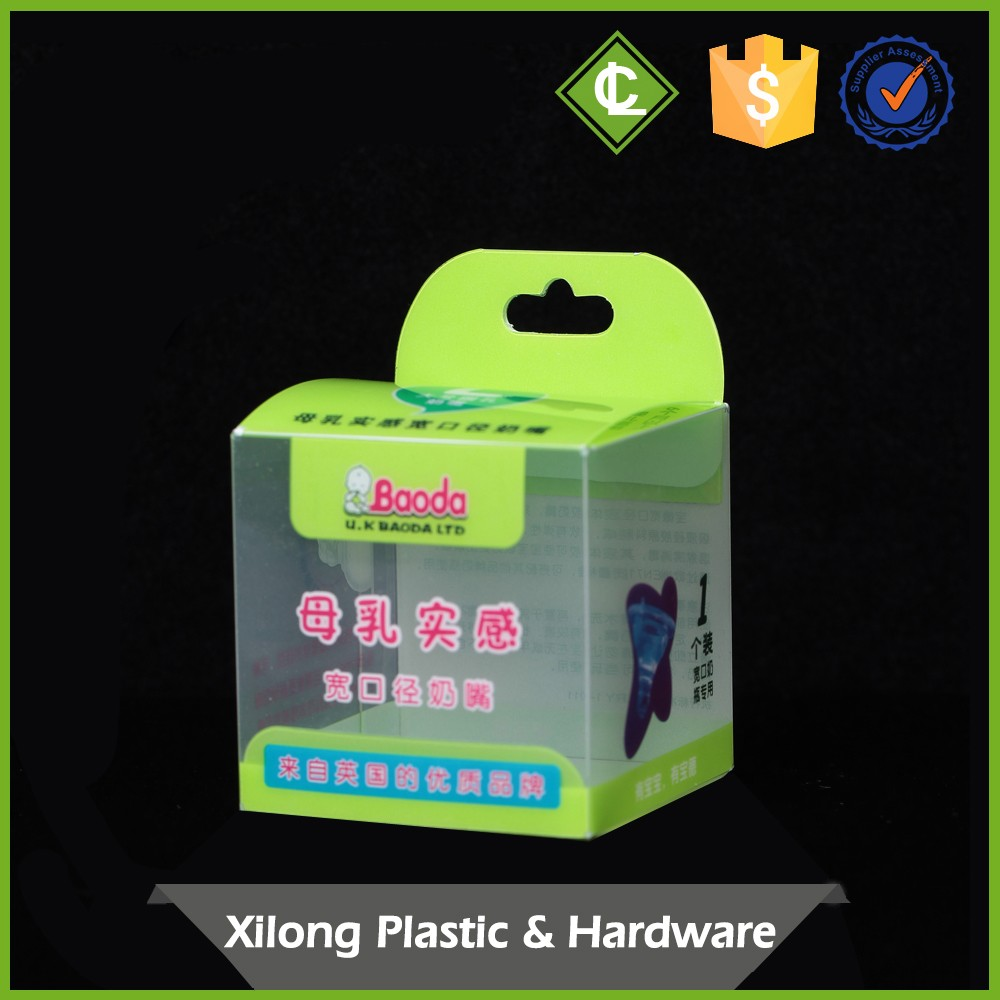 Customized Direct Factory Price Plastic Decorative Packaging 3X6 Pvc Box 40Mm