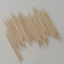 Wholesale two sides pointed birch wooden toothpicks