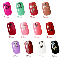 Hot Selling Custom Nail Art Sticker,Christmas Design Stickers Nail Art,Cartoon Nail Art Sticker