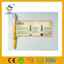 removable ink pen,retractable banner pens,finger hand flag pen