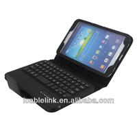 New Detachable Bluetooth 3.0 Wireless Keyboard Case for Samsung Galaxy Tab 3 (8.0)T3100,black