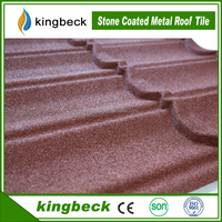 corrugated classic stone coated zinc roof sheet price metal roof tile