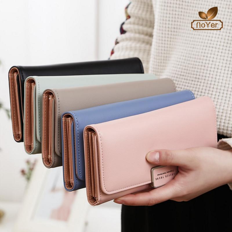 Latest design ladies purse large capacity money clip wallet women long leather  wallet 1d8dd49edc