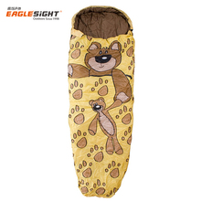 Children Child Chemical free cute animal shaped cotton kids sleeping bags