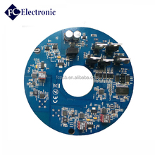 LED lighting print circuit board manufacturer, mcpcb aluminum base pcb pcba smt with UL rohs