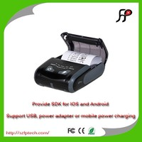 Mini portable bluetooth /WiFi/USB/RS232 interface mobile thermal receipt printer