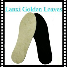 6mm thick thermal inner soles for boots comfort cheap fob ningbo price wool felt warm shoe insoles