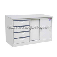 sliding door office small low cabinet furniture