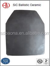 Silicon Carbide Ballistic Ceramics Monolithic Multiple Curved XL Size Plates For Miltary SAPI Hard Armor Systems