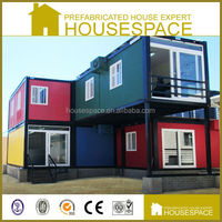 Good Insulated Prefabricated Container Two Story Dormitory