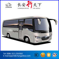 Best mini bus CHANGAN SC6608BF used toyota bus