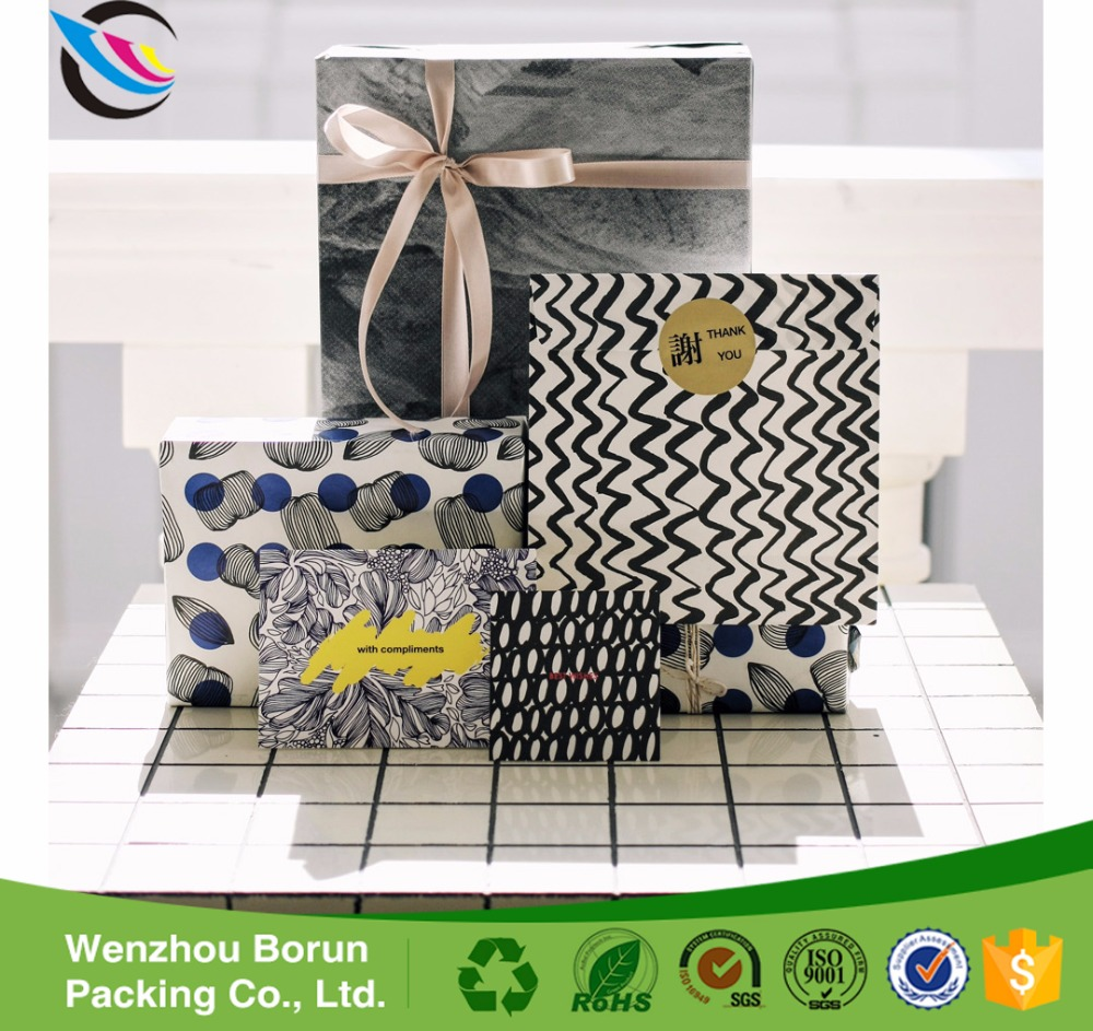 Borun embossed marble pattern wrapping paper