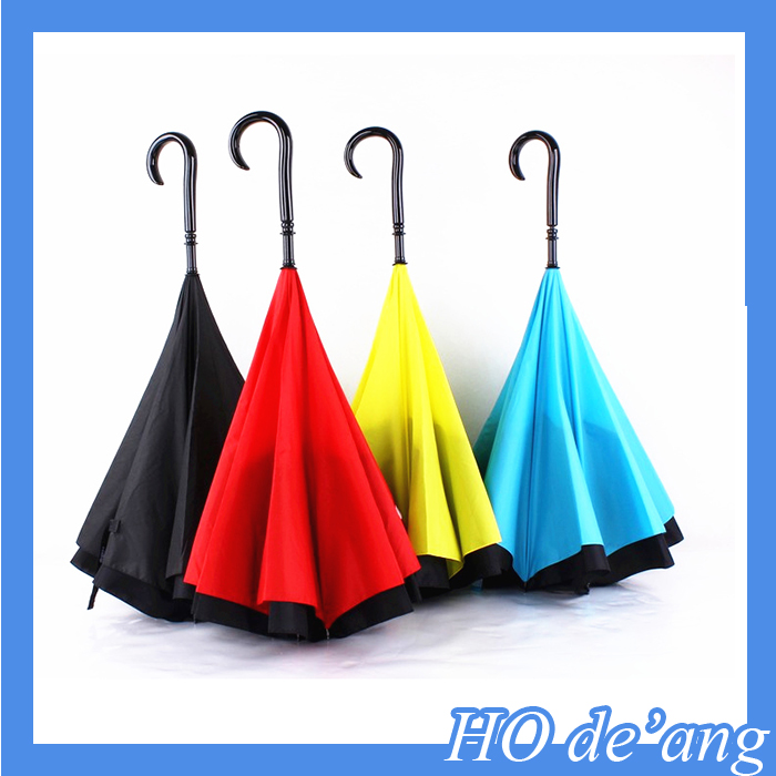 Hogift New Korean Style Anti UV Clear Rain Folding Windproof Princess Umbrella