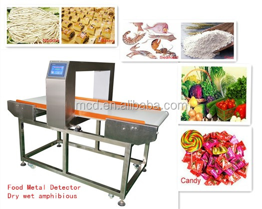 High Professional Food Metal Detector For Detecting The Metal Chips Inside The Food MCD-F500QF